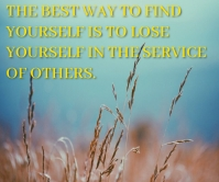 FIND AND LOSE QUOTE TEMPLATE Großes Rechteck