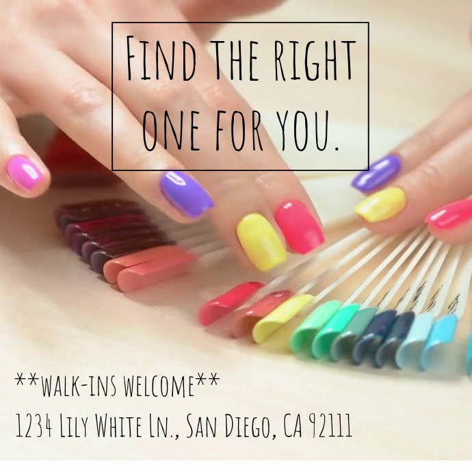 Find the Nail Color Video