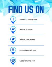 Find Us Flyer