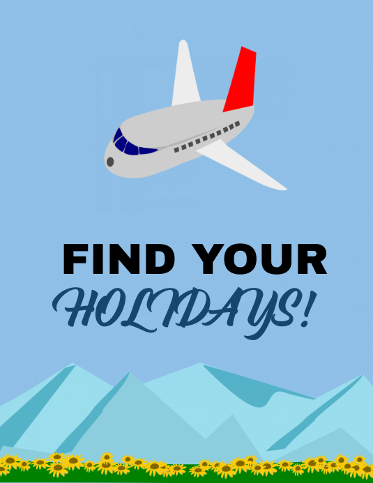 Find your holidays