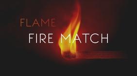 Fire Match Youtube Thumbnail
