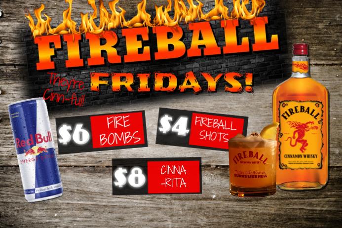 fireball fridays template postermywall