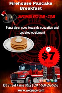 Firehouse Pancake Breakfast Template