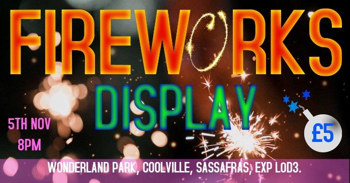 Fireworks Facebook