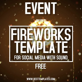 FIREWORKS TEMPLATE DIGITAL