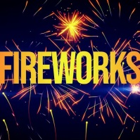 FIREWORKS VIDEO BACKGROUND FREE DOWNLOAD Instagram Post template