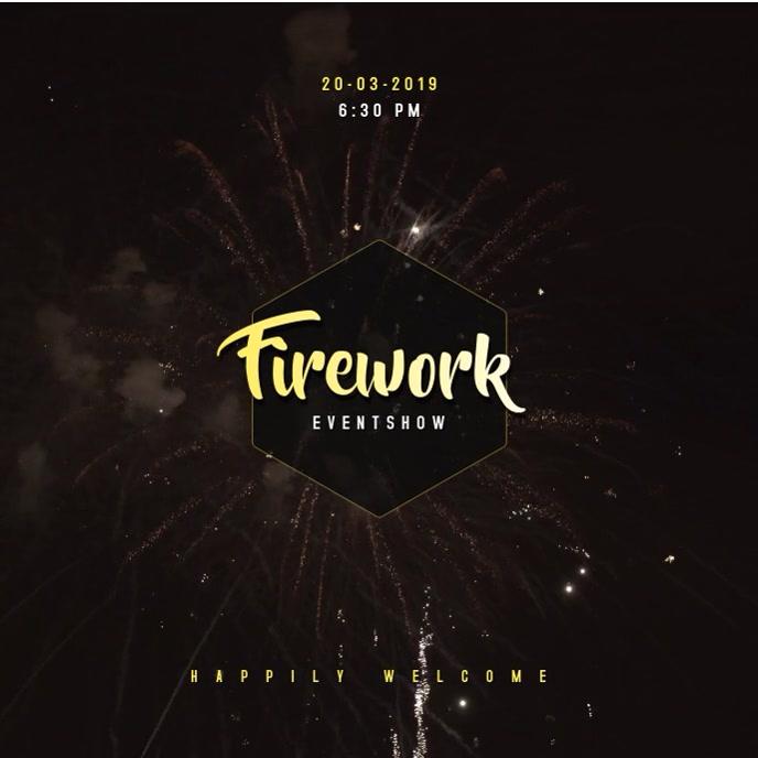 Fireworks Video Template 专辑封面