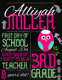 school picture day flyer template