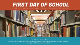 First Day of School Video Banner