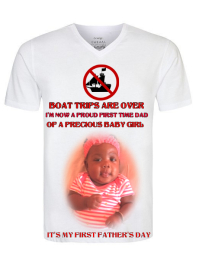First Fathers Day Shirt Pamflet (VSA Brief) template