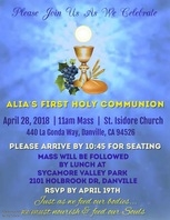 First Holy Communion Video