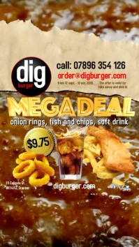 Fish and Chips Megadeal