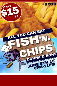 120 Customizable Design Templates For Fish Fry