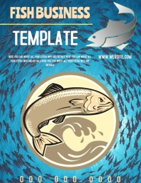FISH FLYER TEMPLATE