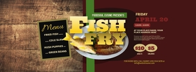 Fish Fry Facebook Cover Photo Facebook-Cover template