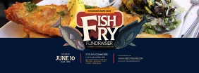 Fish Fry Facebook Cover Photo template