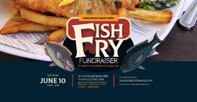 Fish Fry Facebook Shared Image template