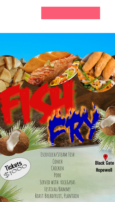 Fish Fry Flyers/Tickets