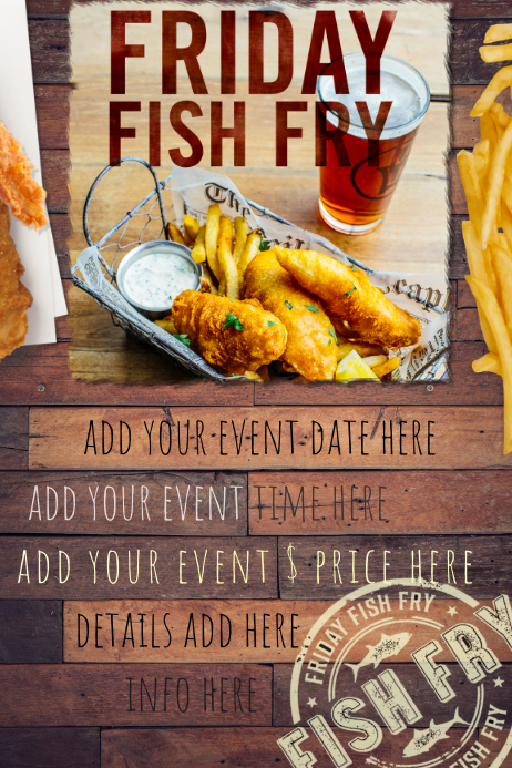 fish fry food restaurant special seafood party reunion