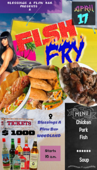 Fish Fry ticket