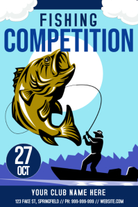 Fishing Competition Poster