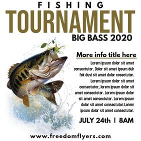 Fishing Tournament Instagram Post