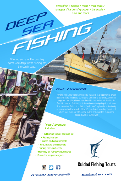 Fishing Tours Poster