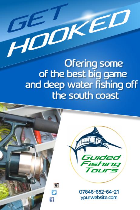 Fishing Tours Flyer