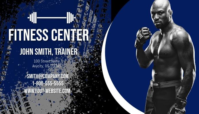 Fitness Center Business Card