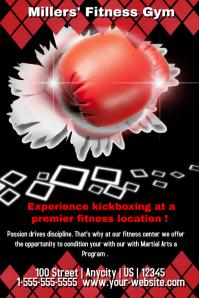 Fitness Center Kickboxing Template
