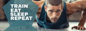 Fitness Centre Facebook template