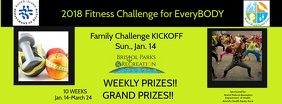Fitness Challenge Facebook cover