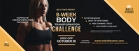 Fitness Challenge Facebook Cover Photo template