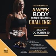 Fitness Challenge Instagram Post