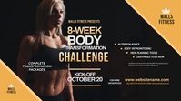 Fitness Challenge Twitter Post template