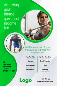 Fitness Club Poster