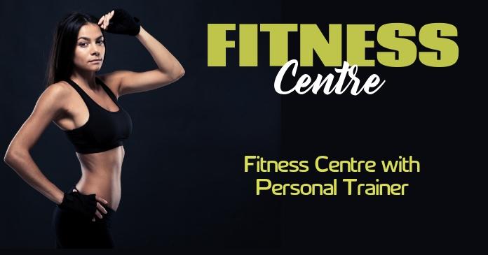 fitness รูปภาพที่แบ่งปันบน Facebook template