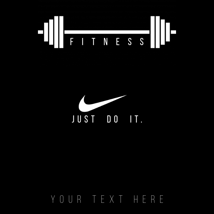 fitness Album Cover template