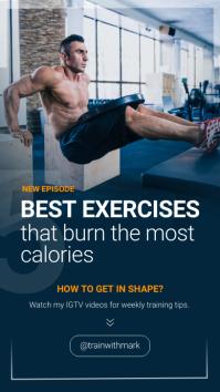 Fitness Excercises IGTV