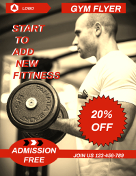 FITNESS FLYER,SMALL BUSINESS FLYER