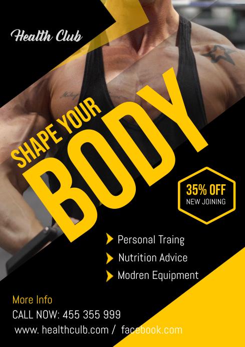 Fitness Flyer ..