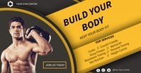 Fitness Flyer Facebook Shared Image template