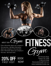 customize 340 fitness flyer us letter templates postermywall