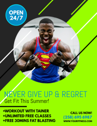 Fitness Flyer  Free Fitness Flyer Templates