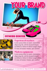 Fitness flyer template - SPA brochure - PosterMyWall
