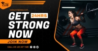 Fitness Flyer Template Facebook Ad