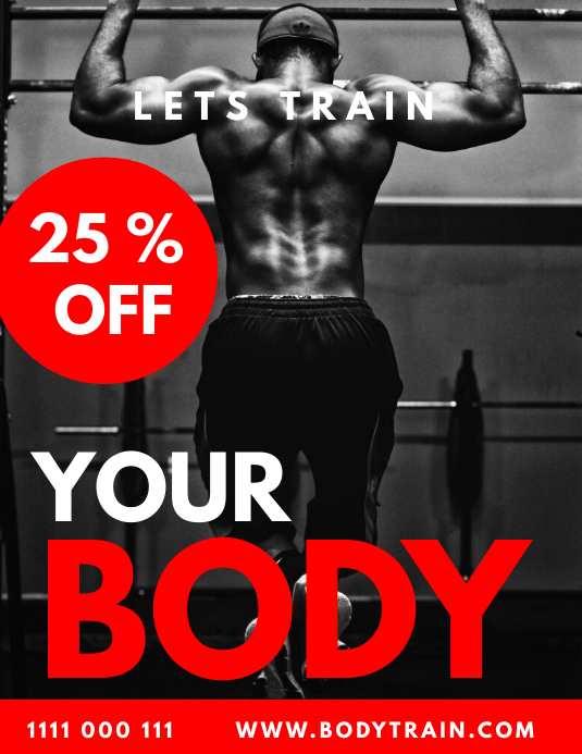 FITNESS FLYER TEMPLATE