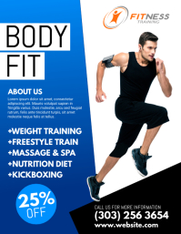 Beautiful Fitness Flyer