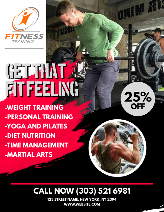 Fitness Flyer Template  Postermywall