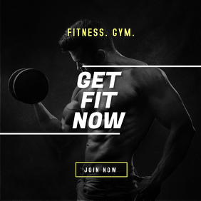 Fitness Gym Digital Ad